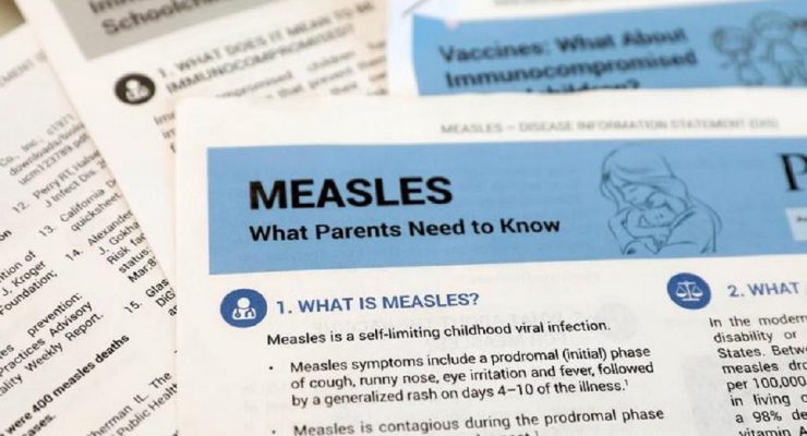 Measles killed more than 5,000 people in DRC