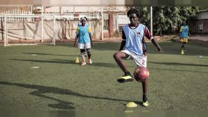 In Sudan a model football championship for women's rights