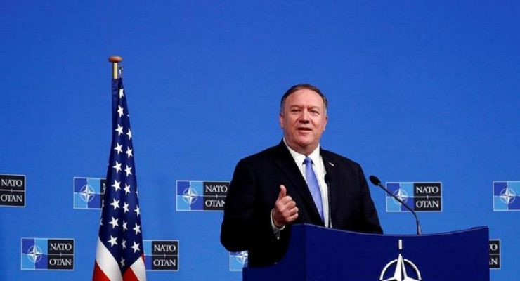 Mike Pompeo in Rabat
