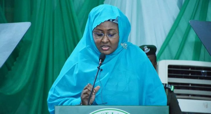 Nigeria First lady calls to regulate social networks