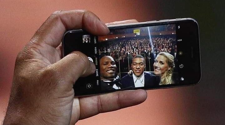 When the iPhone 6 Didier Drogba creates the buzz on the web