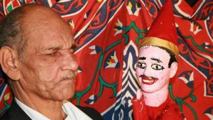 Egypt Aragoz the puppet on show